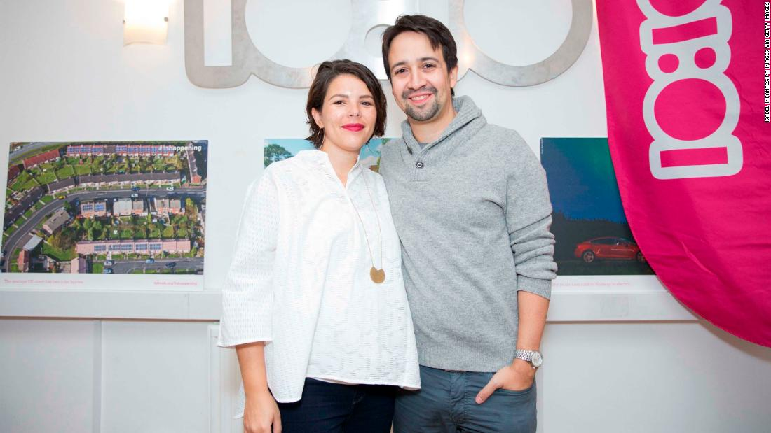 "Actor and composer Lin-Manuel Miranda, creator of the hit musical ""Hamilton,"" and his wife Vanessa Nadal are expecting their second child. The couple married in 2010 and have a a three-year-old son, Sebastian."