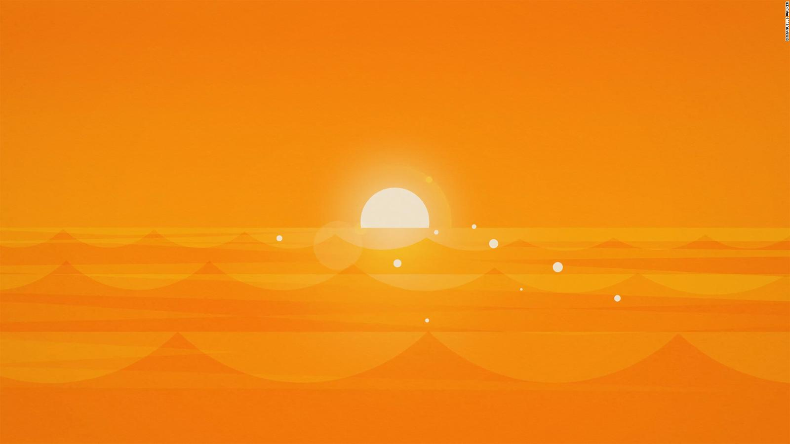 orange the color of warmth and comfort cnn