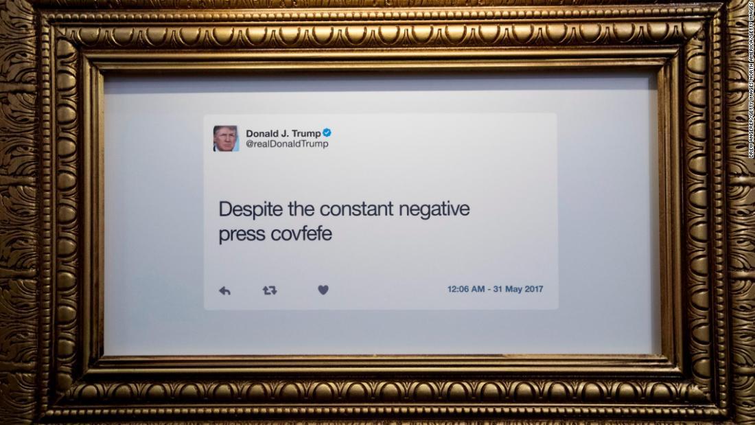 Donald Trump's 'typewriter' theory of Twitter