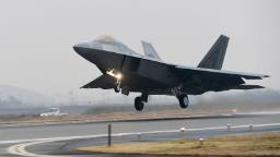 F-22 jet crashes in Florida