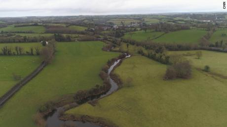 Irish border drone footage