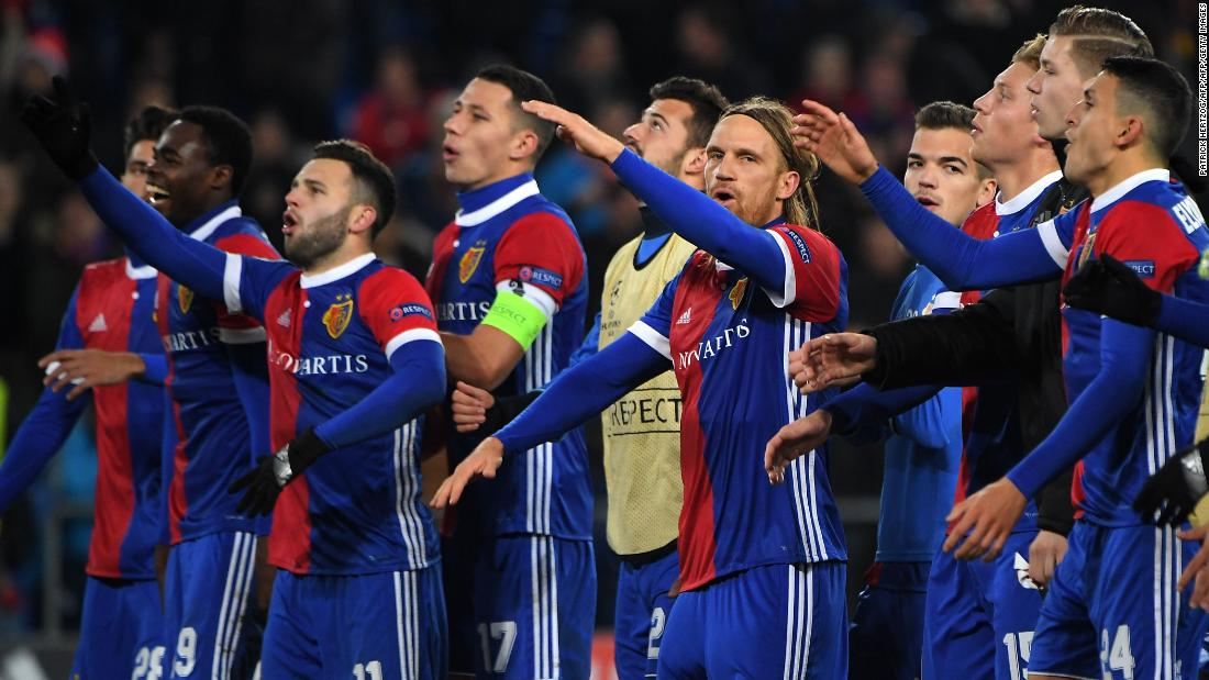 While defeat for United was merely a hiccup, the shock victory for Basel proved vital as the Swiss club advanced second in Group A. Michael Lang's 89th-minute goal was all that separated the sides and provided the St Jakob Park faithful with another memorable night. In 2011, United -- then reigning Premier League champions -- were on the end of a 2-1 defeat, that time crashing out of the Champions League at the group stage.