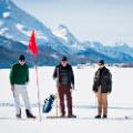 St Moritz ski resort guide golf lake