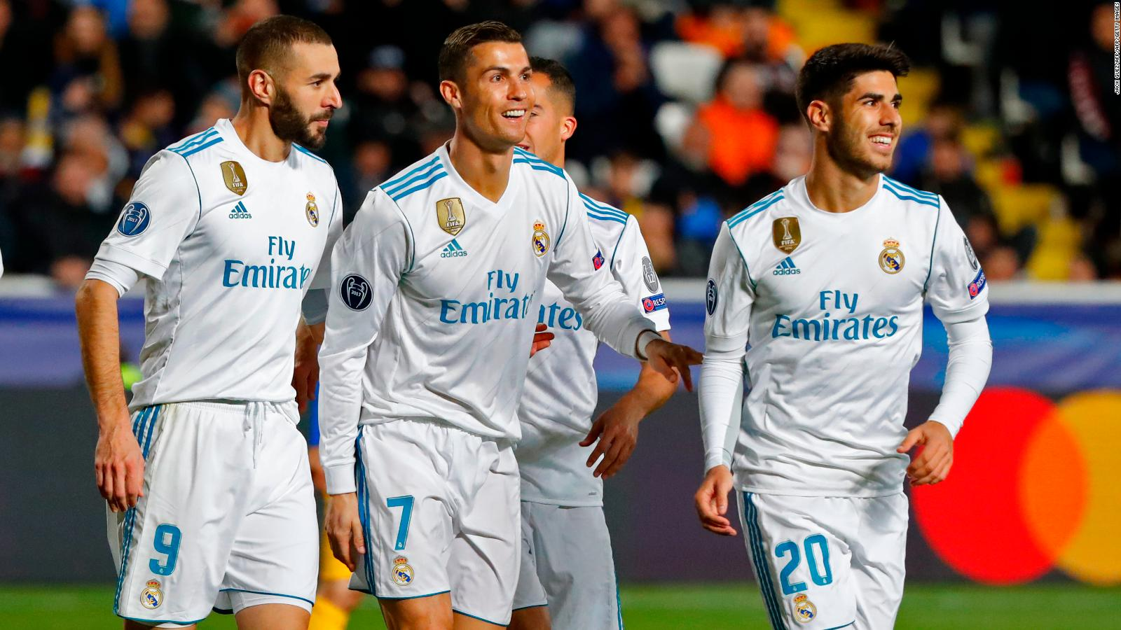 Champions league draw real madrid to take on psg cnn stopboris Image collections