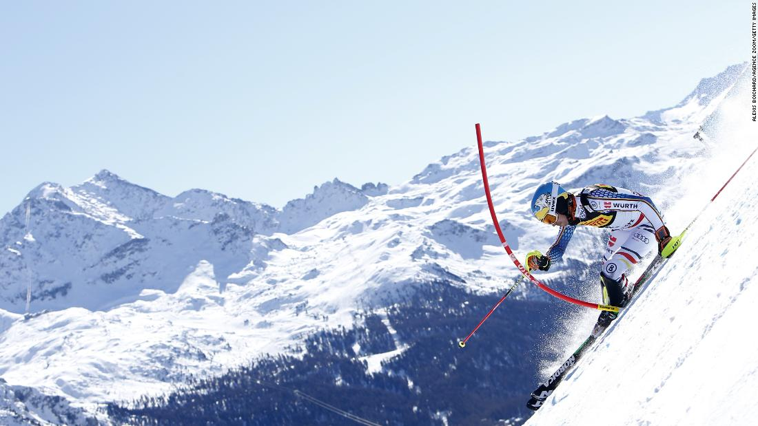 <strong>World stage:</strong> The focus of the ski racing world was on St. Moritz when it hosted the biennial alpine skiing World Championships in 2017.