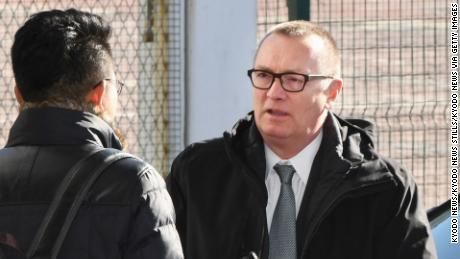 U.N. Undersecretary General for Political Affairs Jeffrey Feltman arrives at Beijing's international airport on Dec. 5, 2017 on his way to visiting North Korea. (Kyodo) ==Kyodo (Photo by Kyodo News via Getty Images)