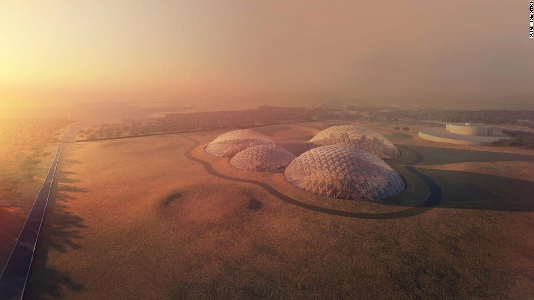 The UAE aims to invest further in the field of space research by building the giant Mars Science City in the desert outside Dubai.