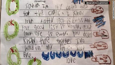 6-year-old writes scathing letter to Santa