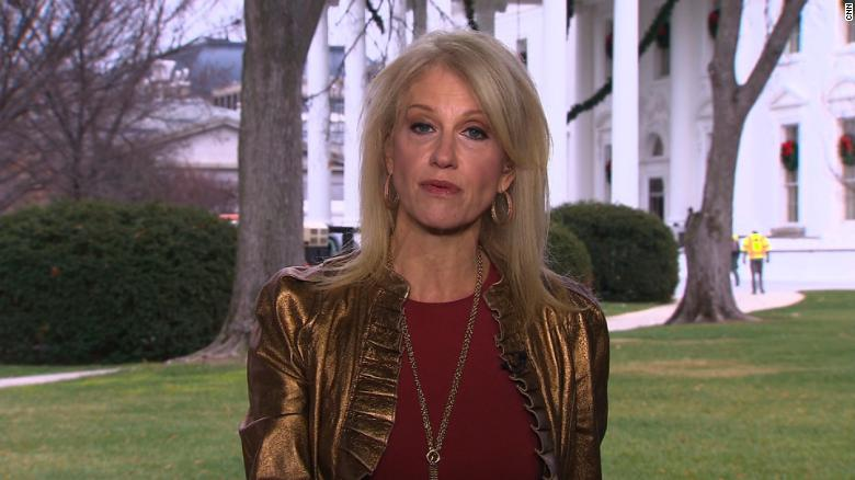 Conway defends Trump on Roy Moore (full)