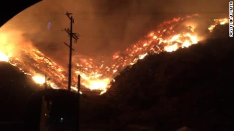 California wildfire threatens Getty Center