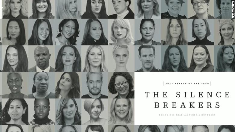 Who are 'The Silence Breakers'?