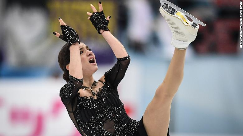 Evgenia Medvedeva is one of several Russian athletes who indicated they may boycott the Games rather than compete as neutrals.