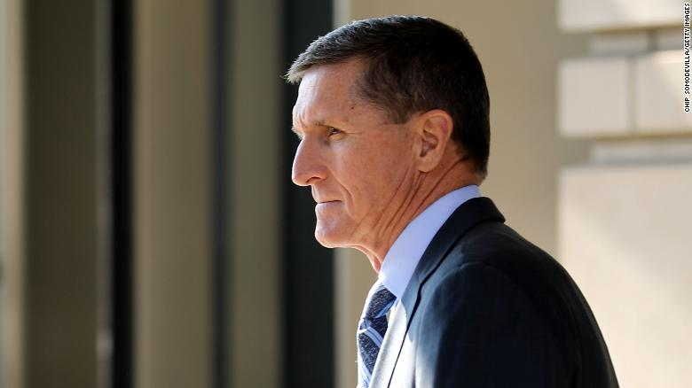 Michael Flynn, former national security adviser to President Donald Trump, leaves following his plea hearing at the Prettyman Federal Courthouse December 1, 2017 in Washington, DC.