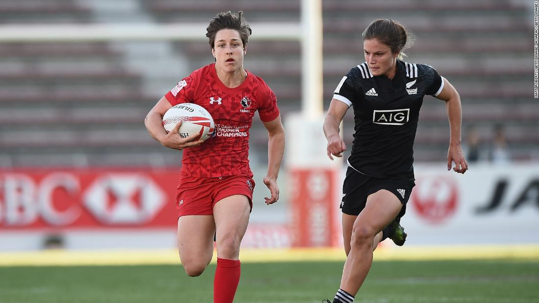 "With over 800 points to her name, Landry is the leading point scorer in women's Sevens Series history. The Canada captain, dubbed ""Pocket Rocket,"" racked up 27 tries and helped herself to 269 points last season."