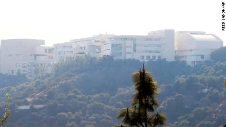 Getty Museum says it's 'safest place' for art if fires threaten