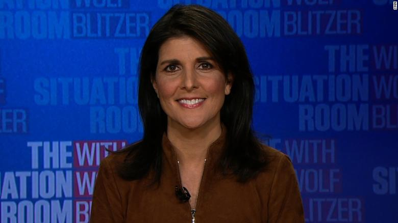 Haley on Jerusalem: This is about courage