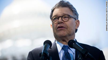 Franken marks final day in Senate in wake of groping allegations
