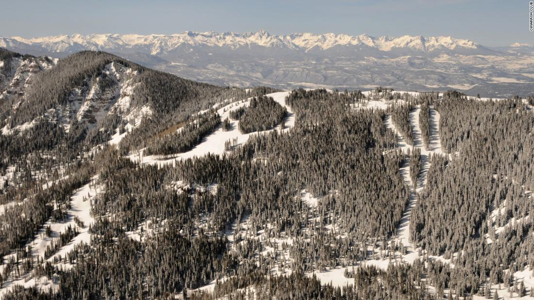 <strong>Cimarron Mountain Club: </strong>The ski area encompasses 1,000 acres along the club's two-and-a-half miles of the Cimmaron Ridge, with access to another 950 acres of public land. The 60 runs will be reached by snowcat, with six distinct areas offering a variety of terrain from leisurely groomed runs to glades, chutes and bowls.