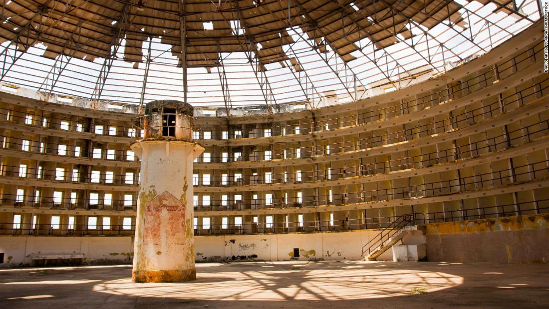 Cuba's now abandoned Presidio Modelo was a real-life example of a functioning panopticon prison, with a central, supposedly omniscient tower.