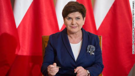 Prime Minister of Poland Beata Szydlo in Warsaw, Poland on 29 June 2017 (Photo by Mateusz Wlodarczyk/NurPhoto)