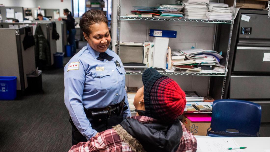 "As a police officer and Chicago native, Maddox has seen how violence and lack of structure affect youth on the city's South Side. She knew she had to help. ""We can't arrest our way out of this. Law enforcement needs the people in the community to work with us to solve some of the grassroots issues that are causing the violence,"" she said."