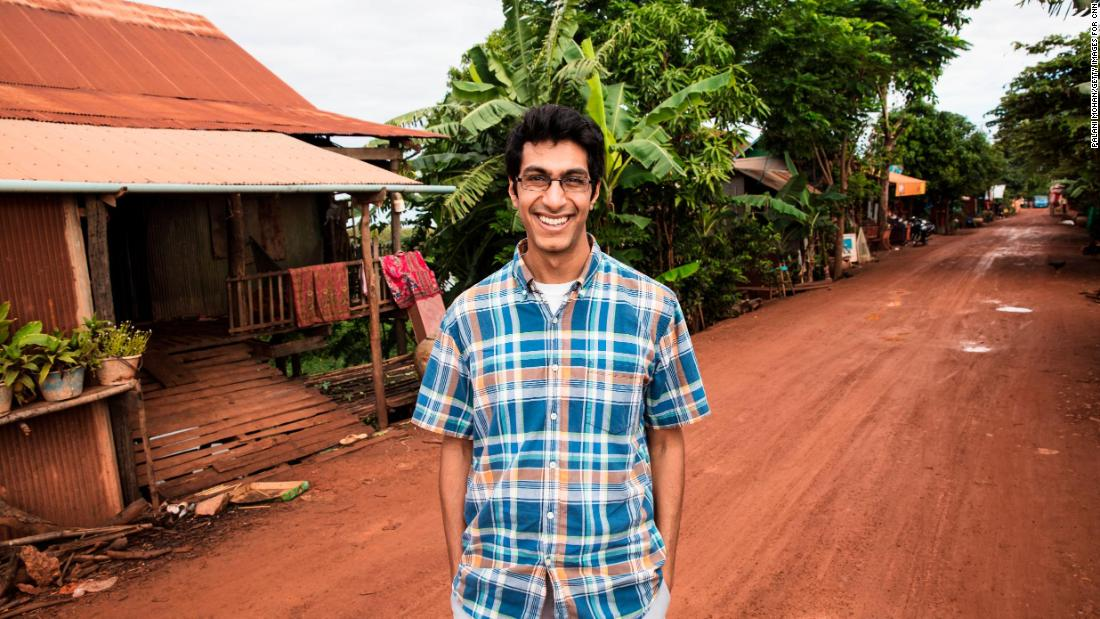 "While volunteering in Cambodia in 2014, then-college student Samir Lakhani saw that many rural communities did not have access to soap or hygiene education. Determined to change that, Samir set up hubs around the country to sanitize and recycle soap from hotels and provide jobs. His organization, Eco-Soap Bank, has donated 186,698 bars of soap in less than three years and helped more than 666,562 people in need. Lakhani's efforts landed him on the list of <a href=""http://www.cnn.com/videos/tv/2017/11/01/cnn-heroes-top-10-reveal-orig-mc.cnn"">top 10 CNN Heroes for 2017</a>. Click through the gallery for more information and photos."