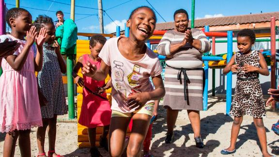 """The children must not forget to have fun while they're learning. Mashale takes care to provide lots of love, too, and remind those in her care that they are worth the effort. """"Everybody has got a dream, and my wish is for their dream to be fulfilled."""""""