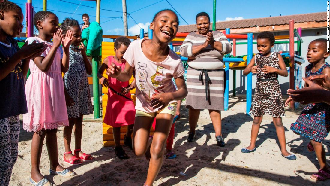 "The children must not forget to have fun while they're learning. Mashale takes care to provide lots of love, too, and remind those in her care that they are worth the effort. ""Everybody has got a dream, and my wish is for their dream to be fulfilled."""