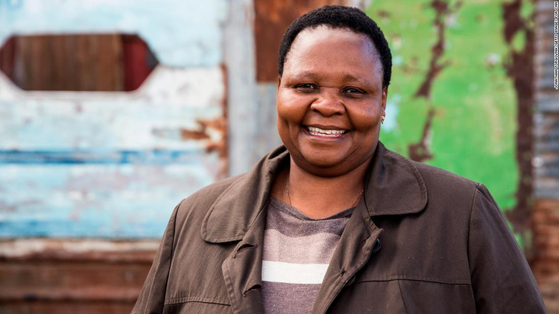 Rosie Mashale is founder and managing director of Baphumelele, a South African organization that provides various levels of care for more than 5,000 children in desperate need. Many of the children are ill or have lost their parents to AIDS.