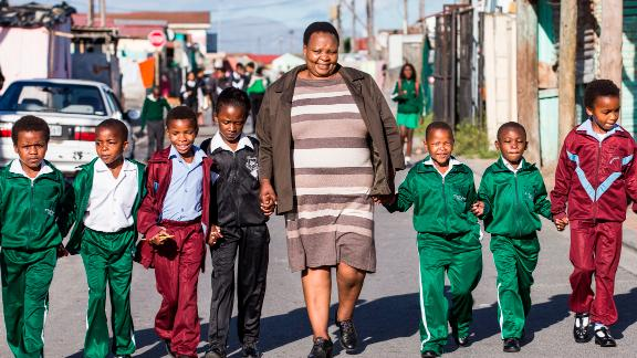 UNICEF, the United Nations Children's Fund, estimates that there are 3.7 million orphans in South Africa. About half of them have lost one or both parents to AIDS.