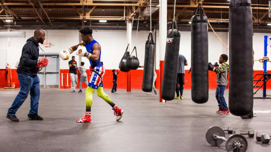 "Sweeney has long had a passion for boxing, and he realized it could help young people develop discipline in other areas of life. What started as free lessons and mentoring, all paid out of his own pocket, is today a 27,000 square foot gym. It may look like a typical boxing gym at first glance, but the tutoring tables, computers and books give it away. Sweeney's motto is ""Books before boxing."""
