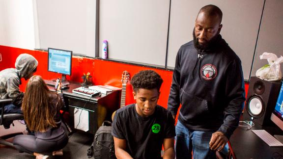The space is about letting young people age 7-18 fulfill their potential in academics, athletics and other activities. Sweeney and his team are dedicated to mentoring the youth into success as long as their path is positive.