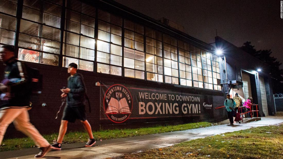 "Sweeney, who had an unstable home life and sought a makeshift family on the streets as a youth, wants the gym to feel like home for a young boxer. ""We want to boost each other up around here all the time. I want a kid to feel that when he walks in the door, that he's a part of a family, a real family."""