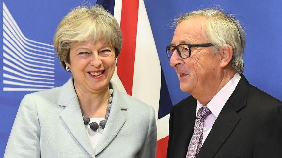 May and European Commission President Jean-Claude Juncker reached a milestone in Brexit talks last week.