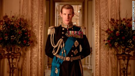 "Matt Smith plays a young Prince Philip, Queen Elizabeth II's husband, on the Netflix series ""The Crown."""