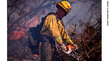 It's not just spraying water: How the pros fight wildfires