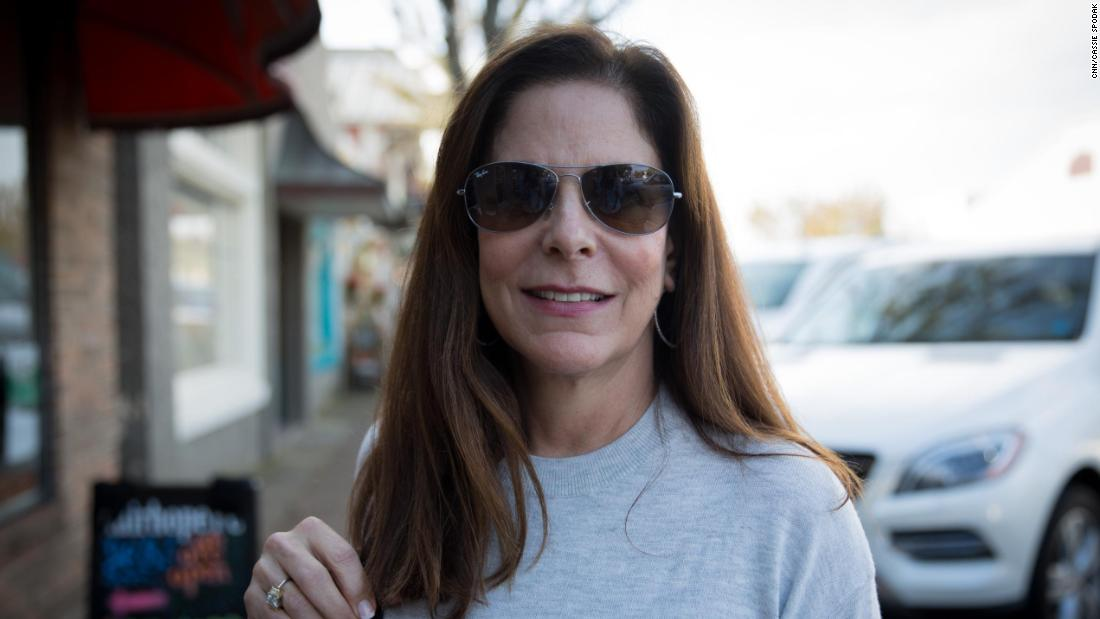 "Leslie Goldberg, 62, of Fairhope, AL - ""I'm not going to vote for Roy Moore, at all. For obvious reasons. So all that's left is Doug Jones, who is of course a Democrat. And then there's a lot of things I don't like about him either, but what's the worst of two evils?"""