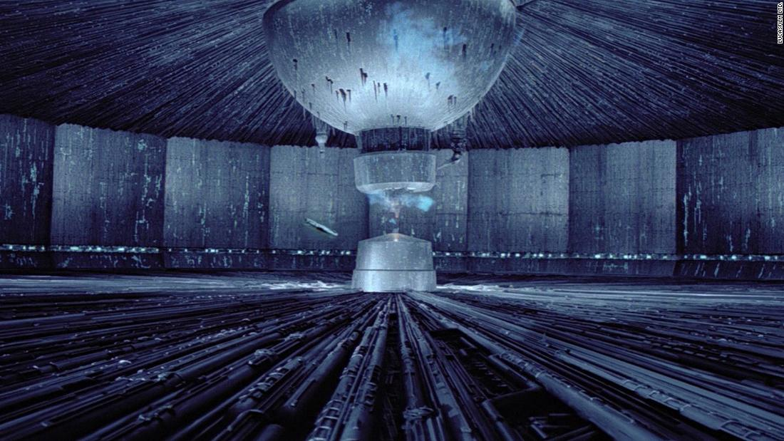 "The fatal flaw within the second Death Star in ""Return of the Jedi"" was its reactor core. For a real-world likeness, seek out the photography of <a href=""https://www.wired.com/2016/11/reginald-van-de-velde-abandoned-enormous-cooling-towers/"" target=""_blank"">Reginald Van de Velde</a>. His series capturing abandoned cooling towers, some as tall as 800 feet, are uncannily like the Death Star's vast interior."