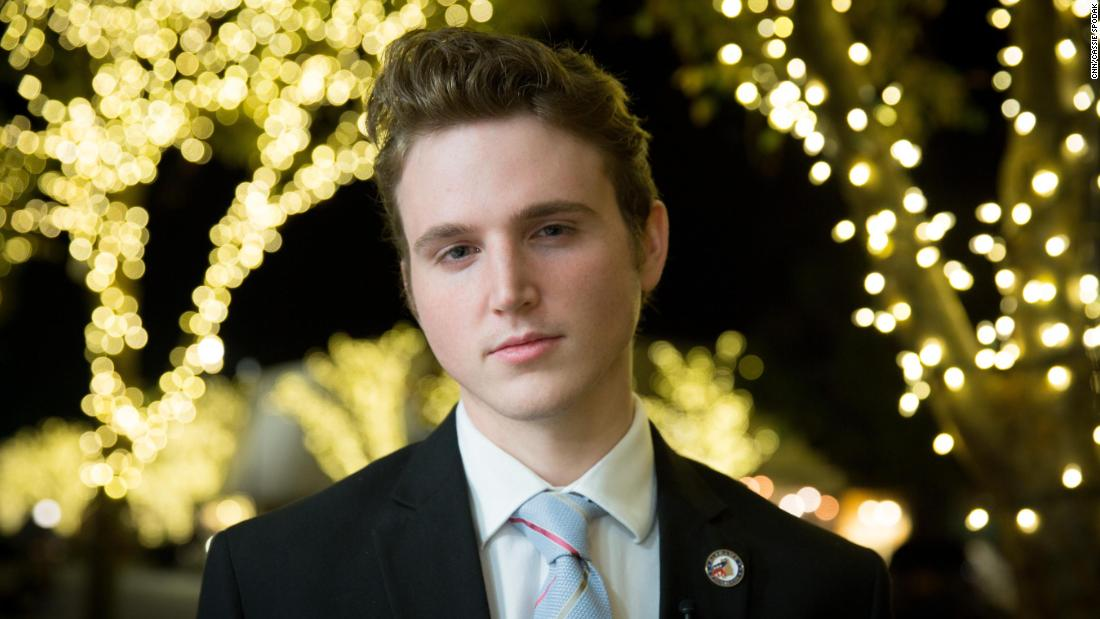 "Isaiah Phyritz, 21, is chairman of the Baldwin County Young Republicans, a group that has reaffirmed its support for Roy Moore - ""We certainly don't need to have any, you know, Washington outsiders or Washington insiders or people from outside the state of Alabama and in the media trying to influence our election,"" Phyritz told CNN, while acknowledging that many Alabama voters are struggling with how to vote. ""I think there are a lot of undecideds who are just like, 'I typically vote Republican but I don't know what I'm going to do this election cycle.' """