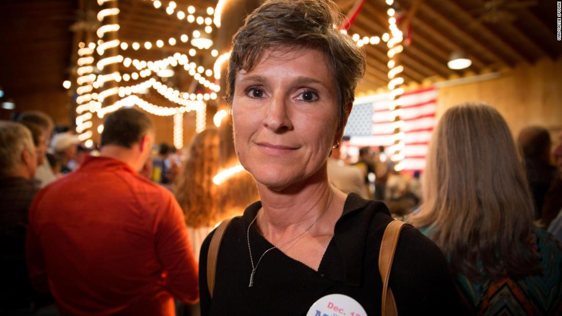 "Lisa Rapp, 48, of Fairhope was at Roy Moore's event and told CNN she had her own experience with sexual assault and wanted to believe the women accusing Roy Moore, but ultimately felt she wasn't sure she did - ""I know for a fact how Roy Moore is going to vote when it comes to protecting unborn babies. I don't know for a fact these women are telling the truth."""