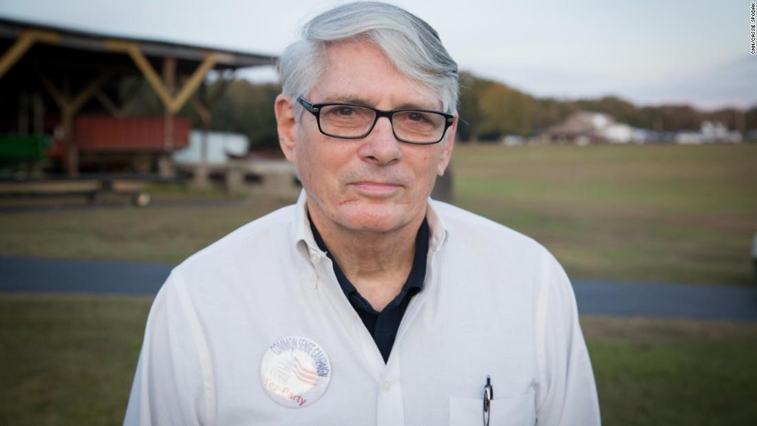 "Lou Campomenosi of Fairhope is a Roy Moore campaign volunteer and president of the local tea party group Common Sense Campaign. He told CNN he thought Moore would win the special election - ""The worst is over, and he'll get elected. The question then becomes what will the Senate do, and I think that's one of our biggest concerns."""