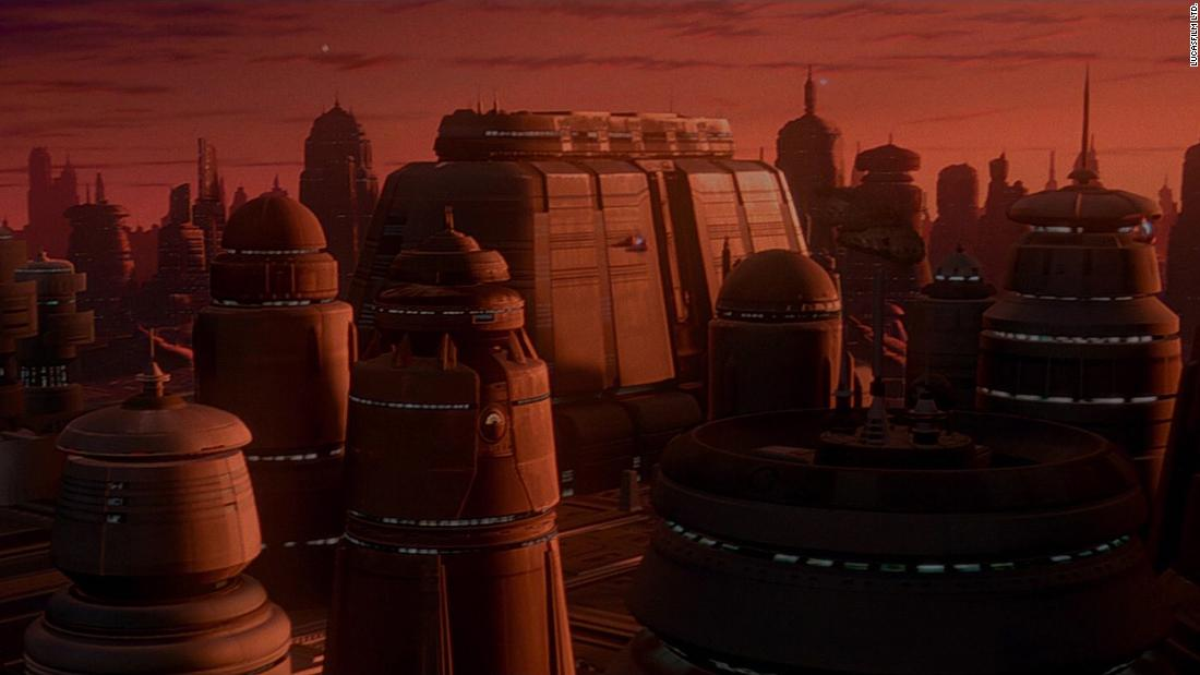 When Cloud City received a revamp in 1997 with the release of the special editions, the architecture drew close resemblance to McQuarrie's early Alderaan concepts.