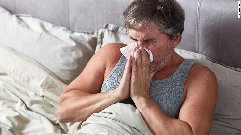 Adults over 50 who got flu vaccines during a hospitalization had a 28% lower risk of a heart attack the following year, researchers told an American Heart Association meeting on Monday.