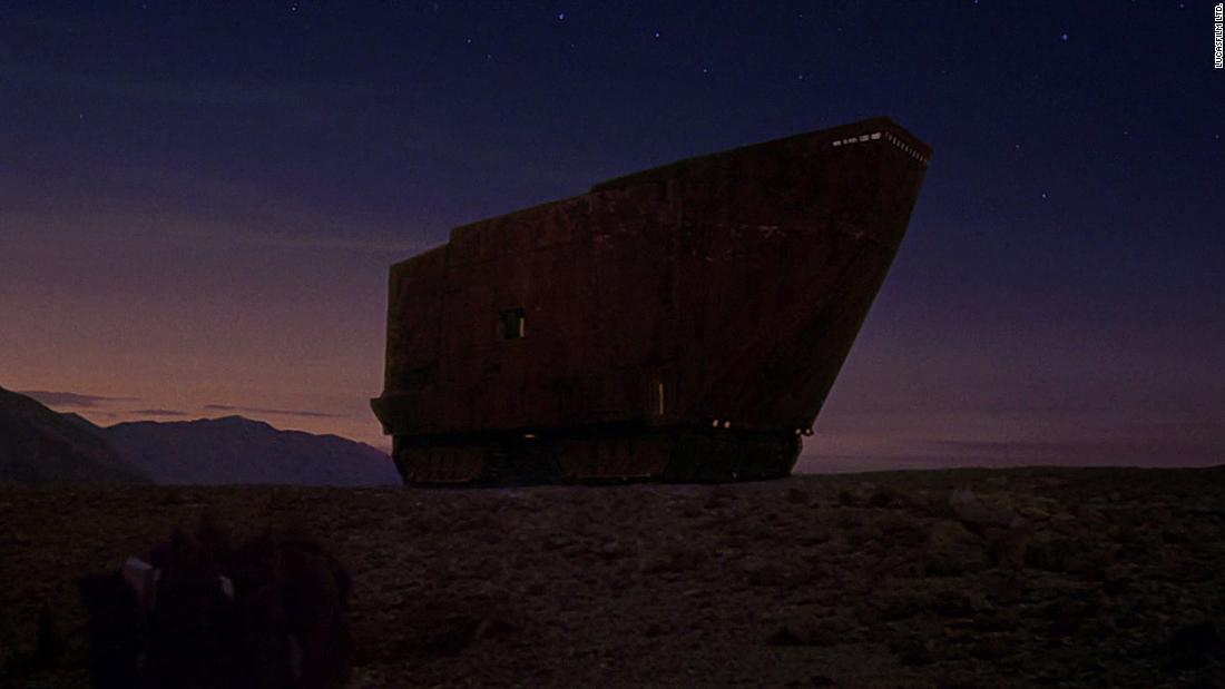 "The sandcrawler, a tracked vehicle from Tatooine, featured in the first ""Star Wars"" film. Not a building per se, it has an unlikely architectural legacy ..."
