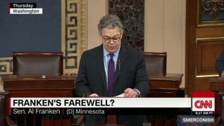 Comment: Did Franken's speech keep the door open? _00014520