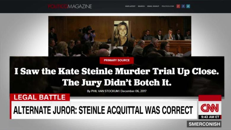 Alternate Juror: Steinle acquittal was correct_00015427