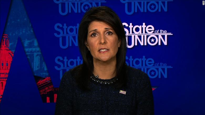 Haley: This will move ball forward for peace