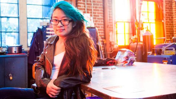 Christina Li is on a mission to bridge the gender gap in STEM fields by empowering and encouraging girls' interests in computer science.  In 2015, during her junior year of high school, Christina created Hello World, an annual computer science camp for middle school girls. During the free, weeklong camp -- attended by roughly 30 girls -- Christina teaches web development, programming, app creation and robotics.