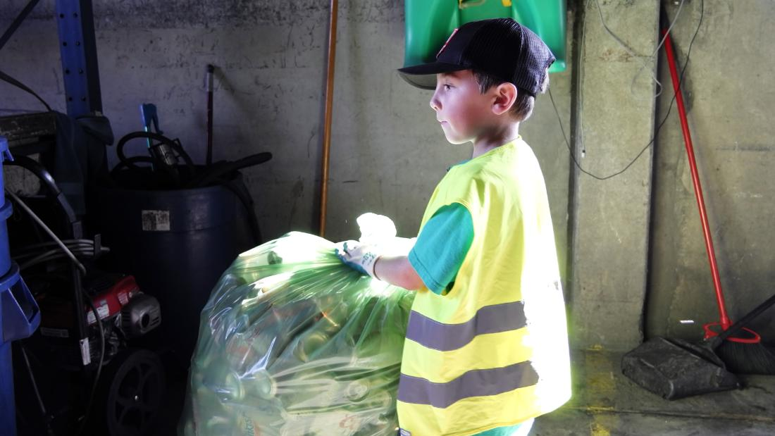 "Why does Ryan love recycling? ""Because it saves the planet and it keeps bottles and cans out of the ocean for animals to not get sick or die,"" he told Ellen DeGeneres. Ryan is a Youth Ambassador at the Pacific Marine Mammal Center in Laguna Beach, California."