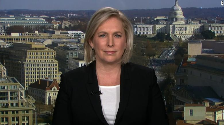 Democratic Senator Kirsten Gillibrand of New York